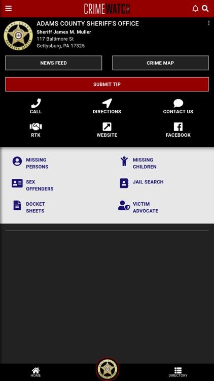 CRIMEWATCH Mobile screenshot-6