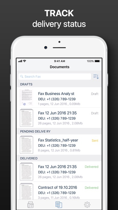 iFax - Send Fax from iPhone Screenshot 5