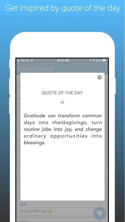 Simpler Gratitude Journal screenshot-4