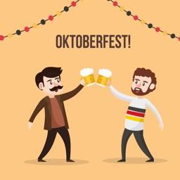 Oktoberfest Stickers!