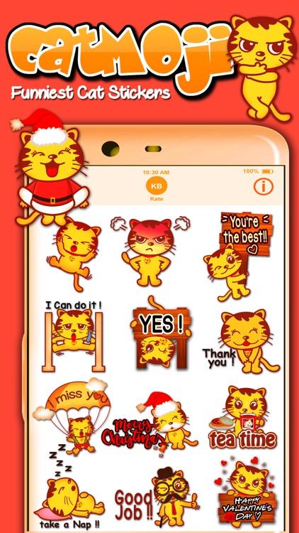 CatMoji Funniest Cat Stickers