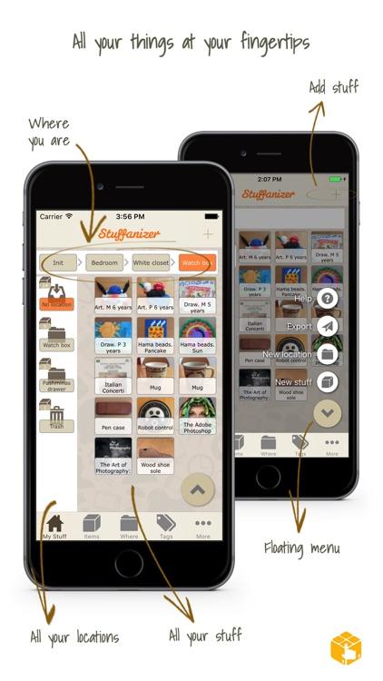 Stuffanizer: home inventory screenshot-0