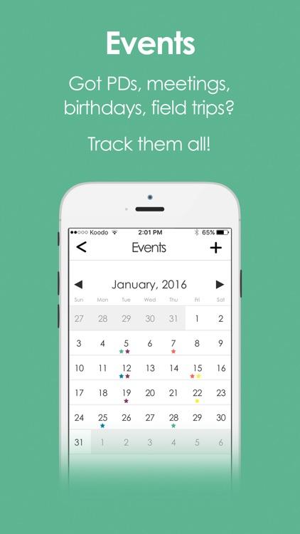 GoTeach - Teacher Planbook App screenshot-3
