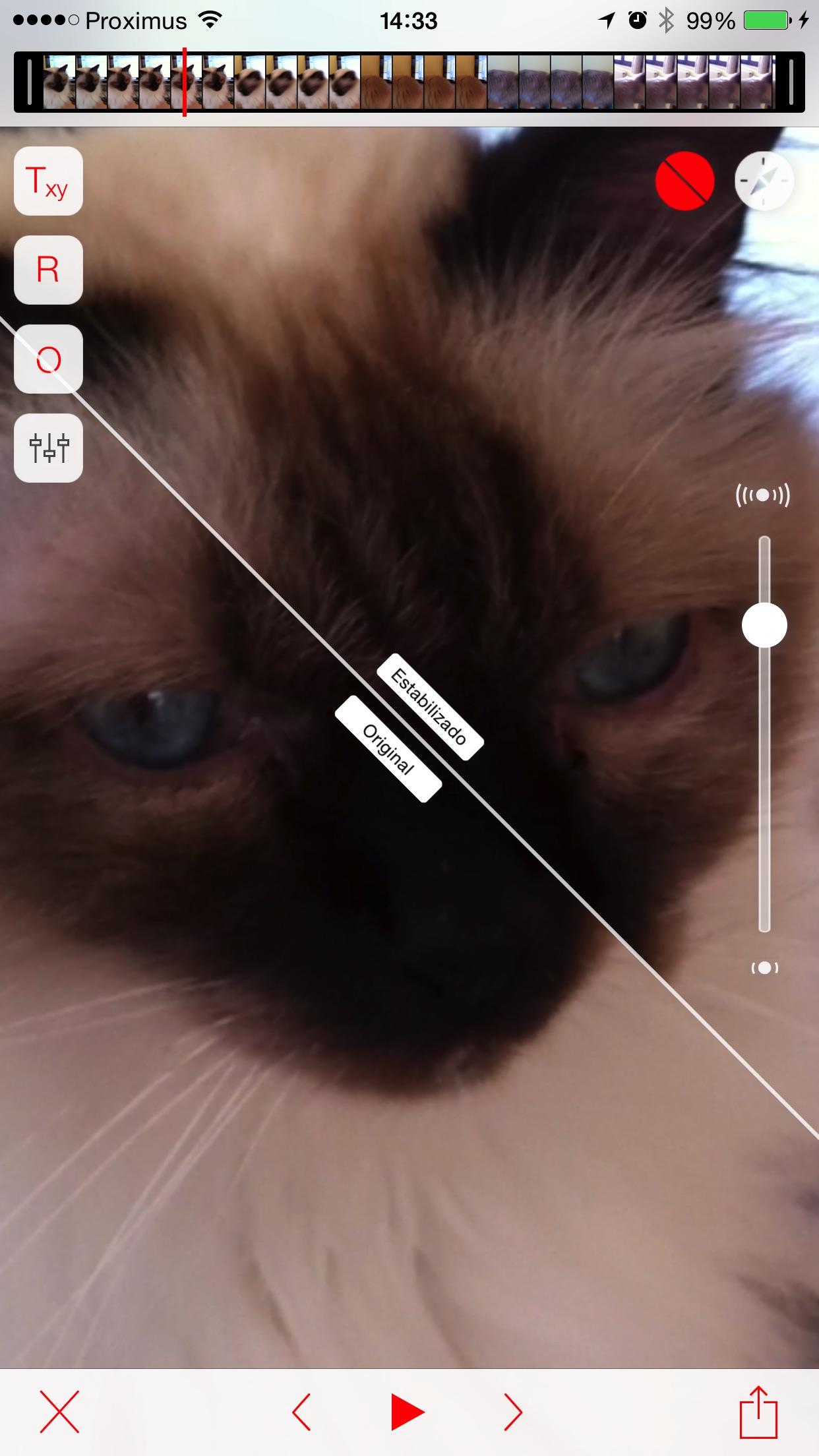 Screenshot do app Emulsio