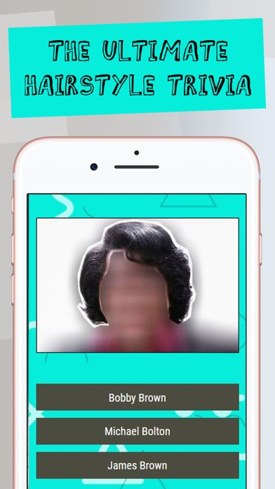 Guess The Celebrity Hairstyle screenshot four
