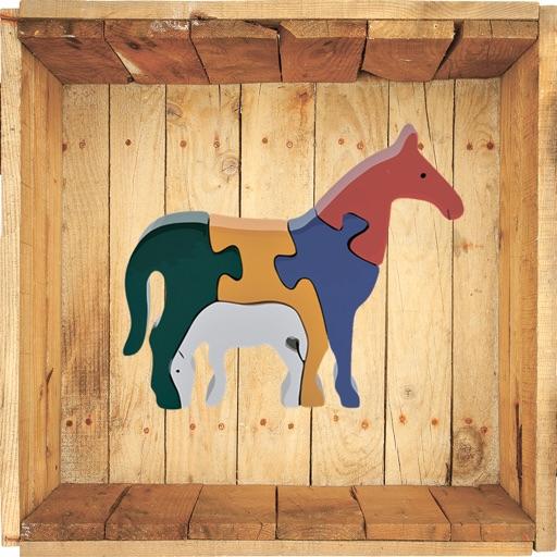 Wooden Jigsaw Animals
