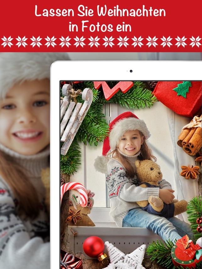 Weihnachten Foto & Rahmen app im App Store