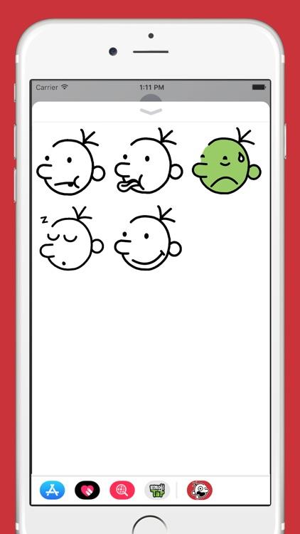 Wimpy Kid Emojis screenshot-4
