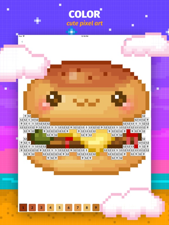 Color Book: Cute Pixel Art App | App Price Drops
