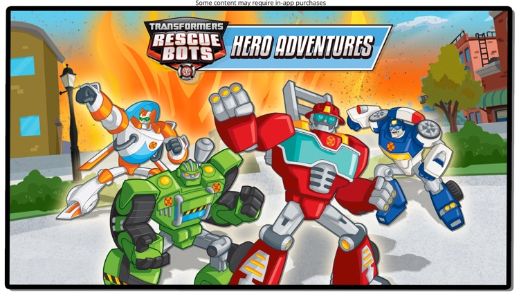 Transformers Rescue Bots: Hero screenshot-0