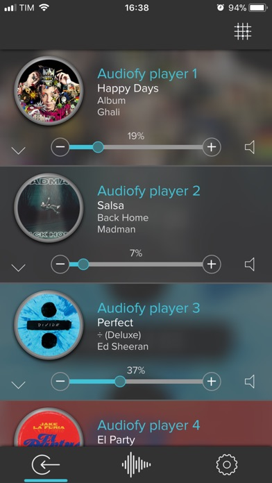 Audiofy Screenshot on iOS