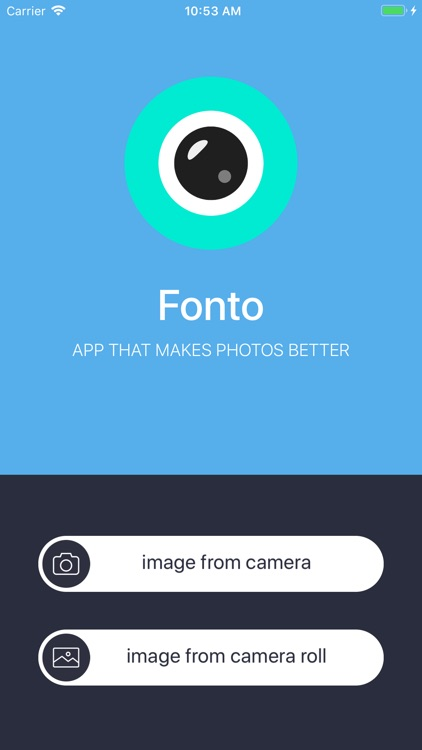 Fonto - Add text on your image