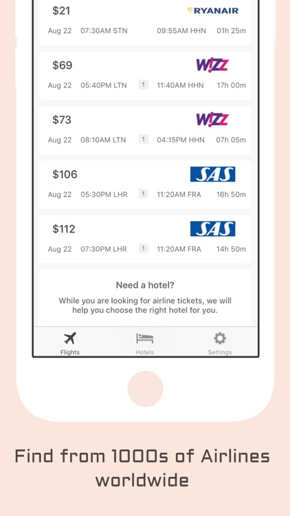 Last Minute Booking - Cheap Flights and Hotels app
