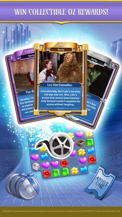 Wizard of Oz Magic Match 3 screenshot-3