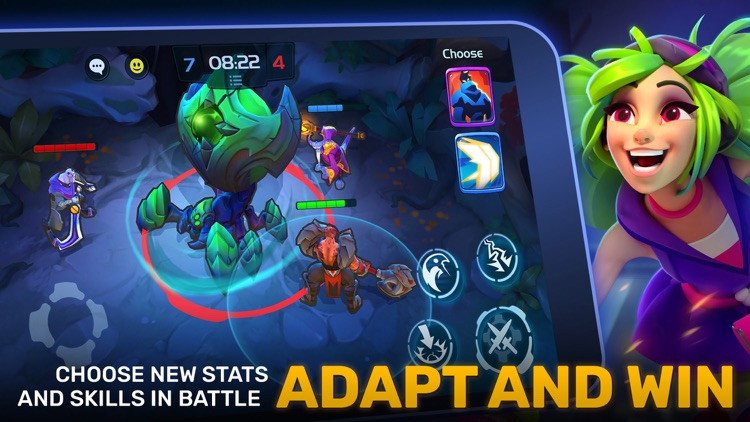 Planet of Heroes - Brawl MOBA
