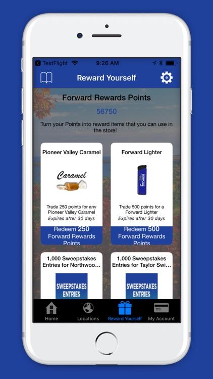 Forward Rewards Me