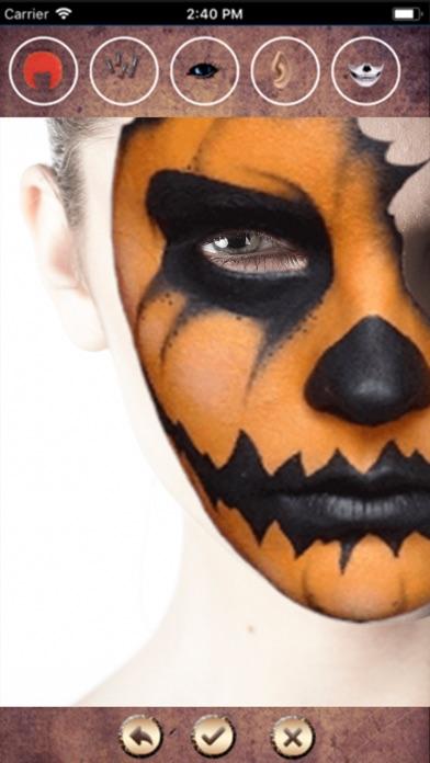 Halloween Mask Face Change HD screenshot two