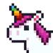 Coloriage UNICORN : jeux pixel