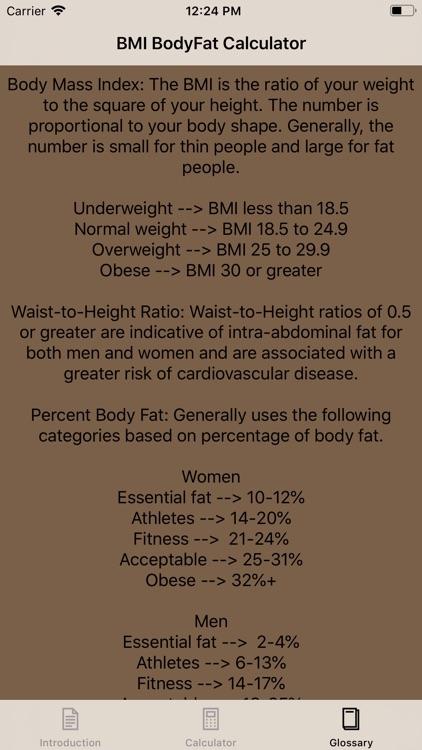 BMI & Body Fat Calculator screenshot-4