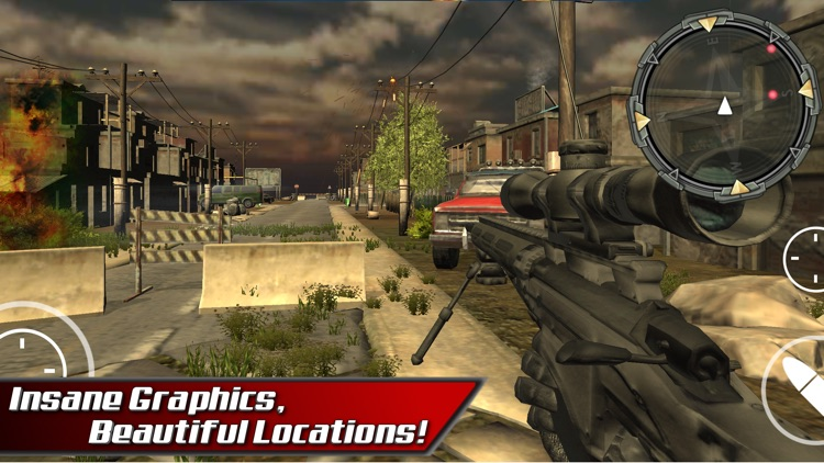 Bravo Sniper Assassin Fury. Commando Shoot to Kill screenshot-2
