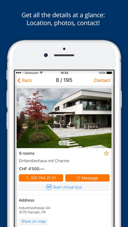 ImmoScout24 Switzerland: Rent or buy a flat/house screenshot-3