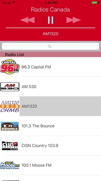 Radios Canada (CA) : News, Music, Soccer