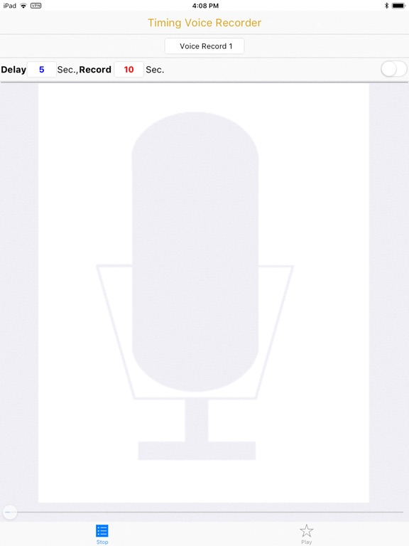 Timing Voice Recorder screenshot 6