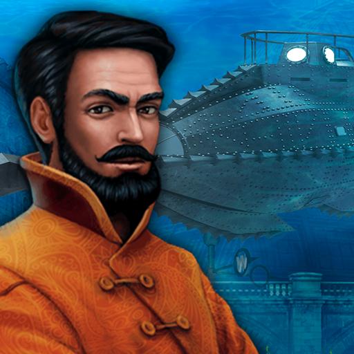 海底两万里 - 隐藏物品。隐藏的对象冒险游戏 For Mac
