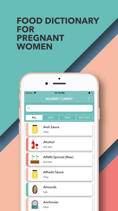 Screenshot for MummyTummy in Lebanon App Store