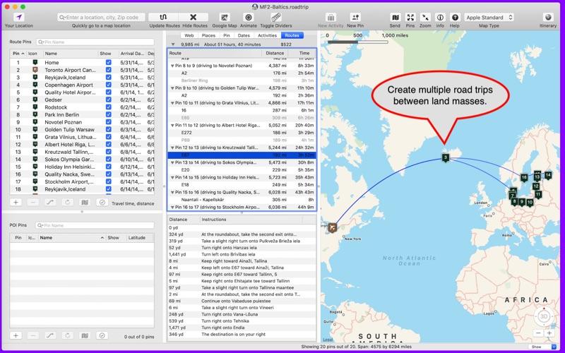 Road Trip Planner >> Road Trip Planner App Price Drops