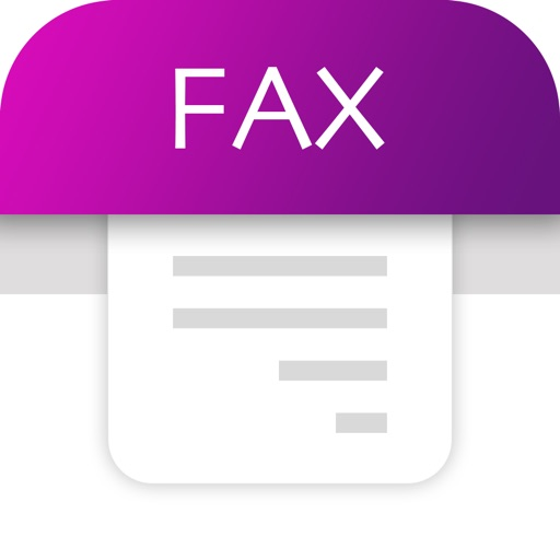 Tiny Fax: send fax from iPhone application logo
