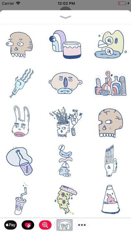 Sticker Fumes