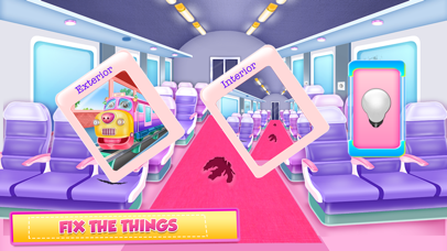 Train Cleaning and Fixing Screenshot