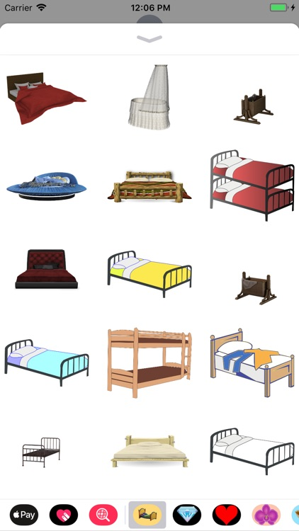 Bed Stickers