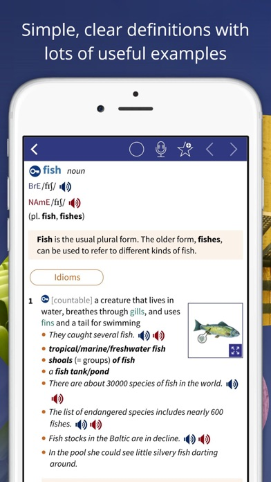Oxford Advanced Learner's Dict screenshot two