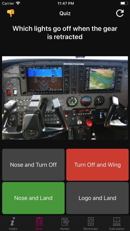 Beech Baron Flight Checklist screenshot-4