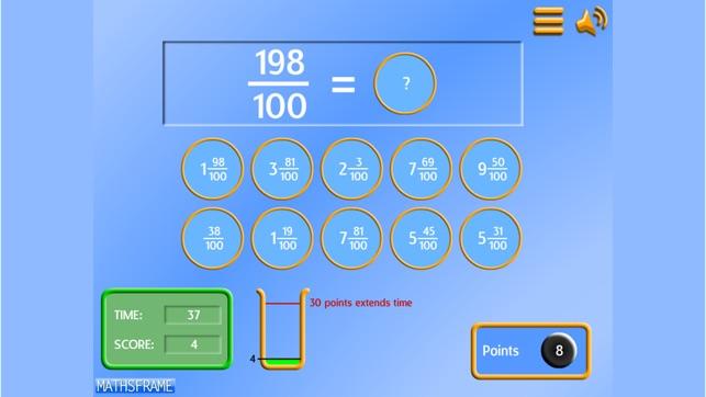 Mathsframe Number Games