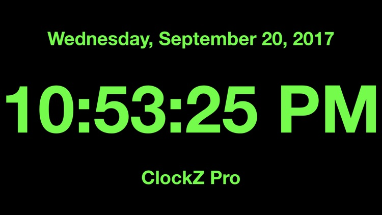 ClockZ Pro screenshot-0