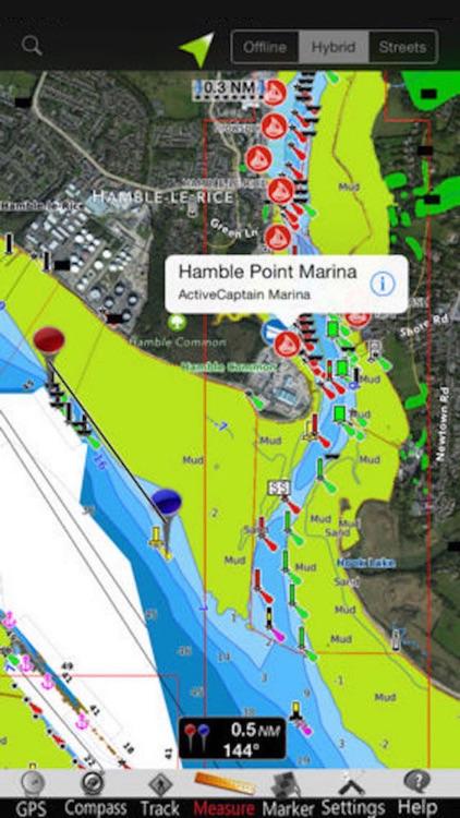 England E. GPS Nautical Charts