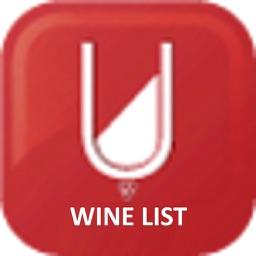 eMenu wine list