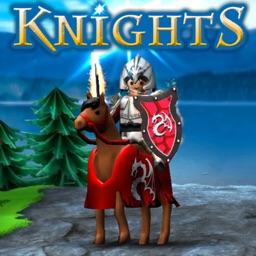Knights Run Jump - Black Knight Heroes