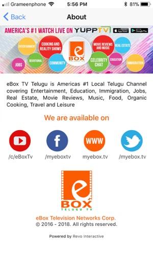 eBox Telugu TV on the App Store