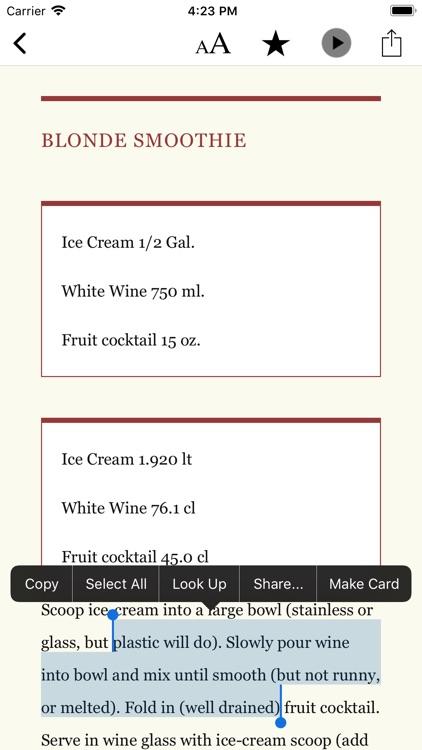Bartender's Handbook screenshot-4