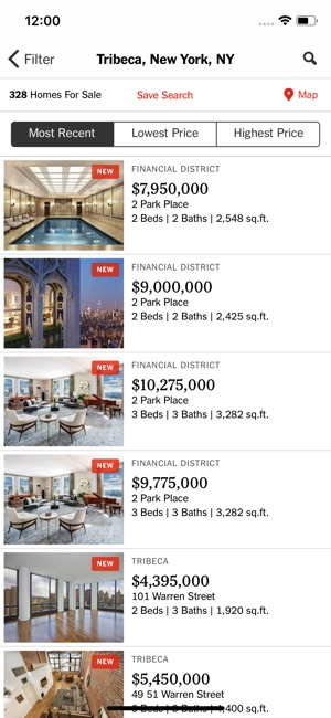 New York Times Real Estate on the App Store