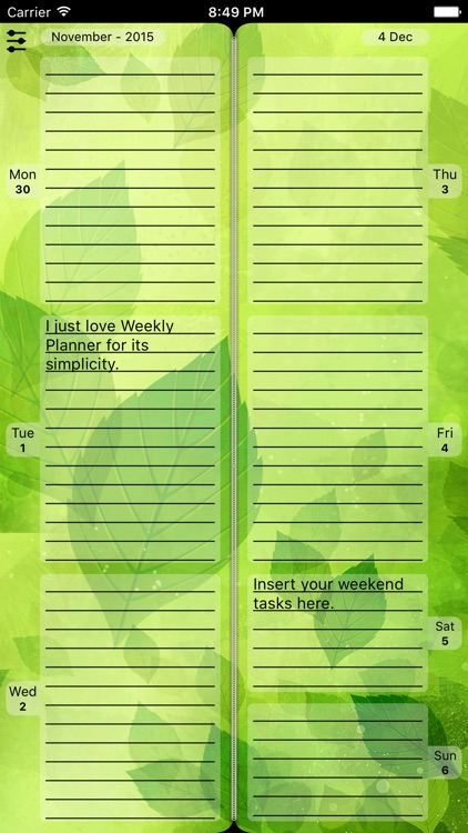 Weekly Planner To Do List