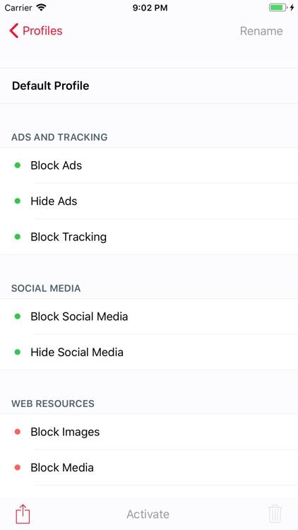 Roadblock - Content Blocker screenshot-7