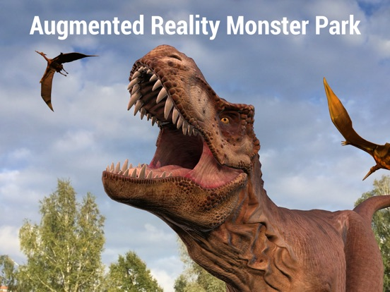 Monster Park - AR Dino World screenshot 6