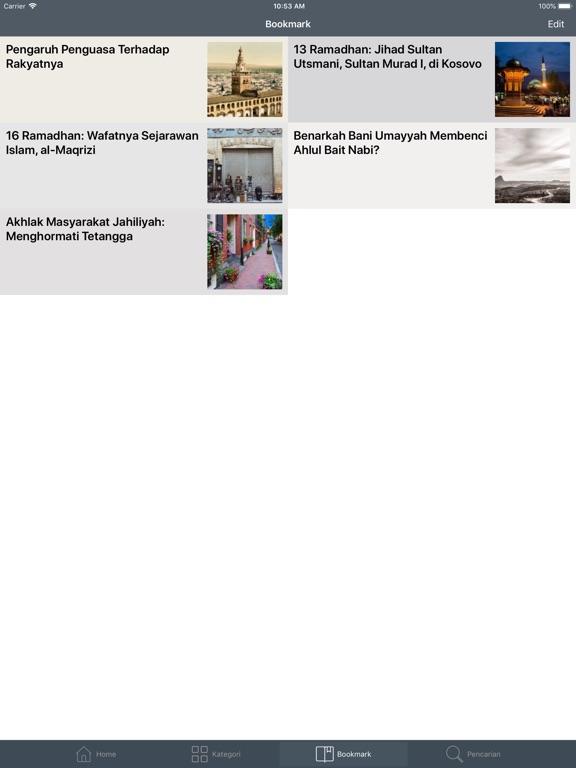 Kisah Muslim iPad