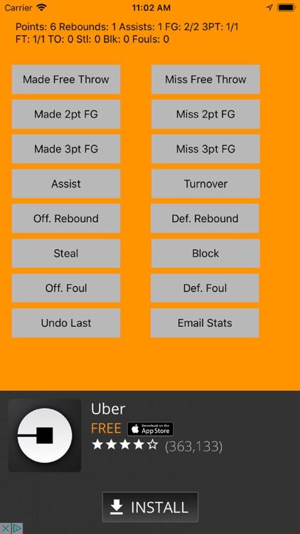 MTS Basketball Stats