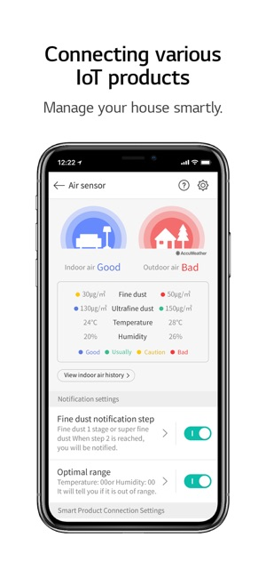 lg smart laundry app android